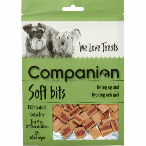 Companion Soft Bits Kylling Og And
