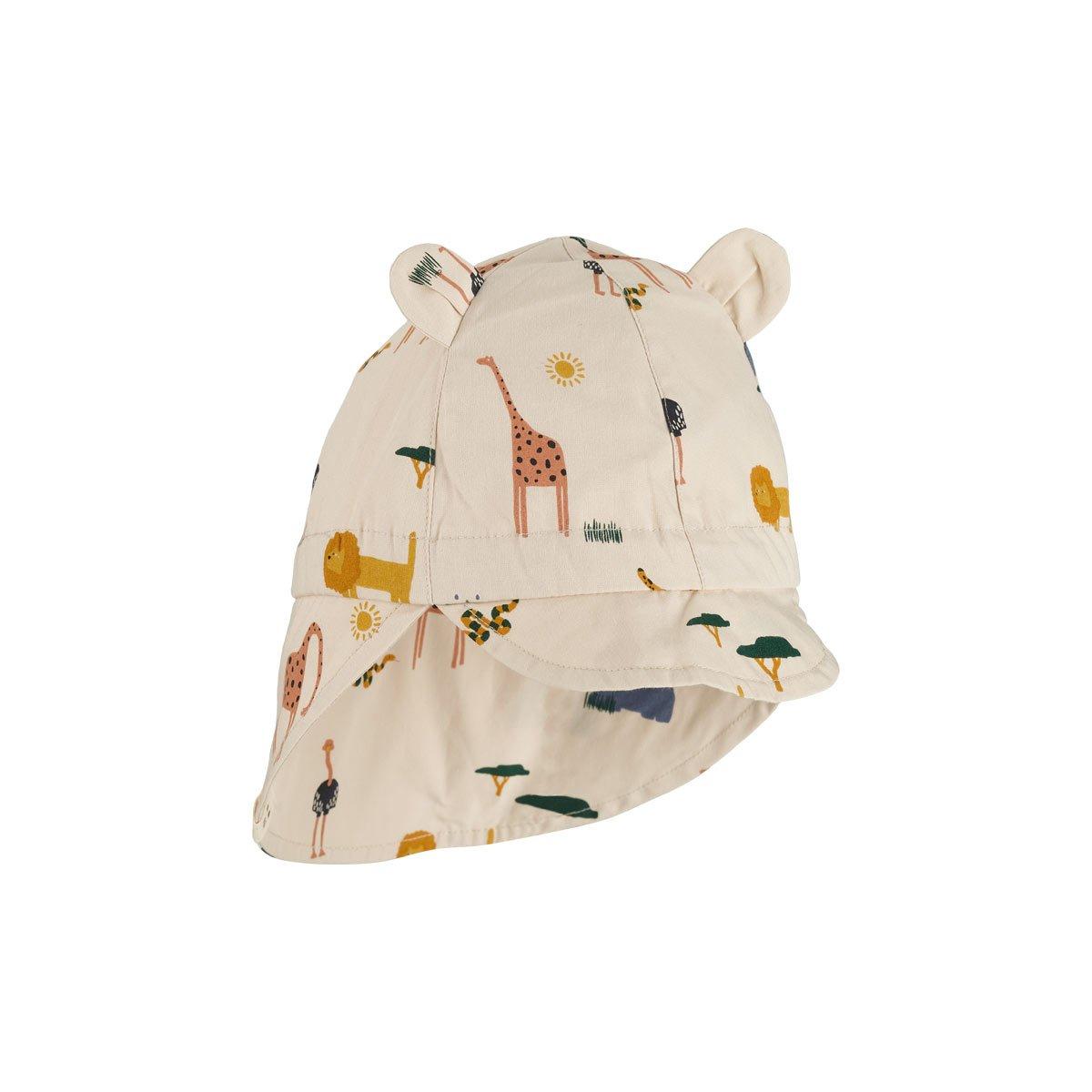 LIEWOOD Gorm Sun Hat Safari Mix