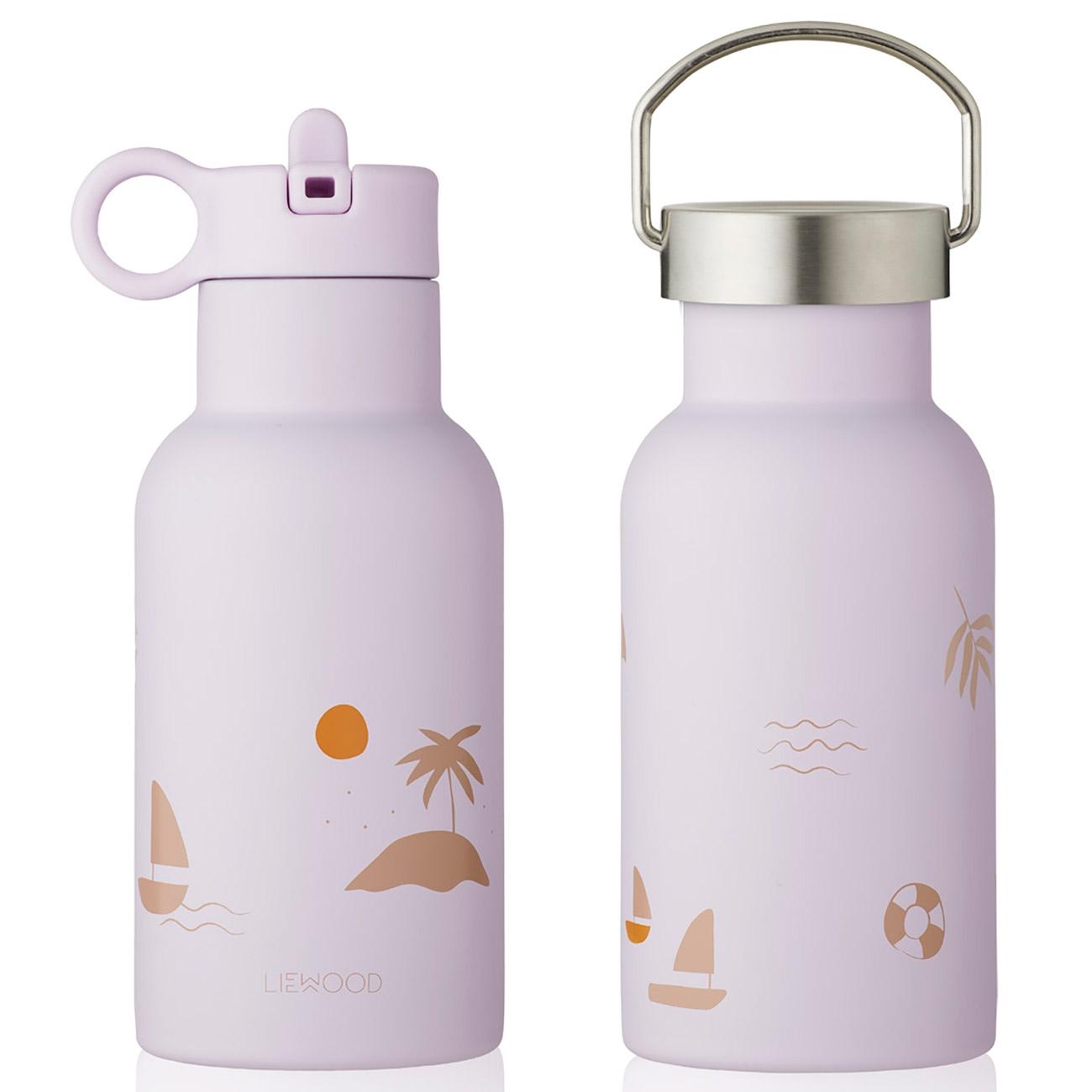 LIEWOOD Anker Water Bottle 350ml Seaside Light Lavender