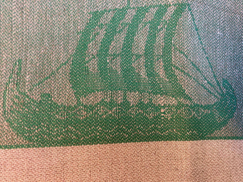 Kopphåndduk vikingskip(2)