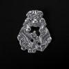 Hengesmykke frol ansikt sølv 1073