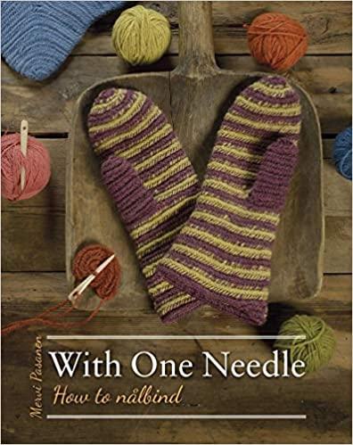 With one needle