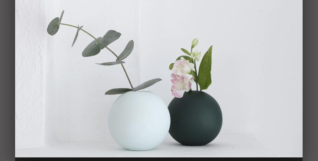 Ballvase | 10cm | Mint
