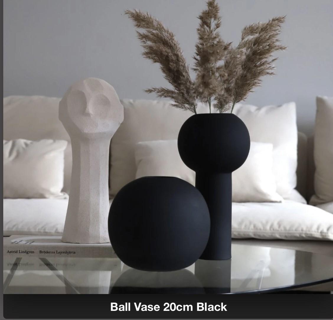 Pillarvase 24 cm Black