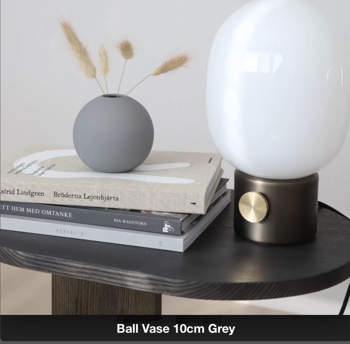 Ballvase | 10cm | Grey
