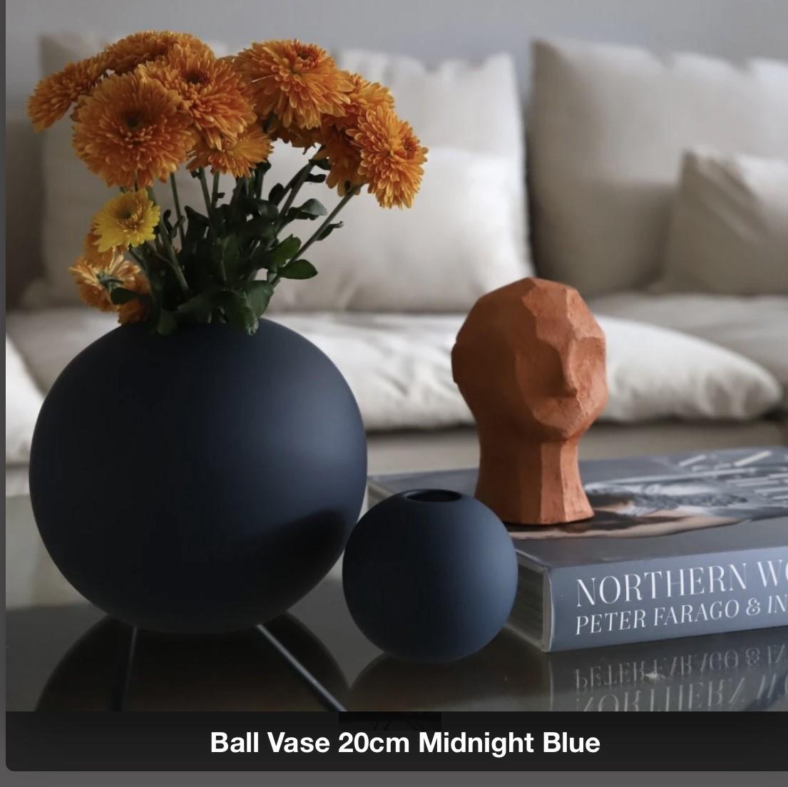 Ballvase | 20cm | Midnight Blue