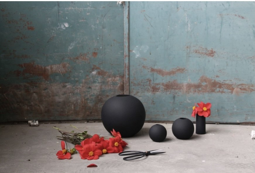 Ballvase | 8cm | Black