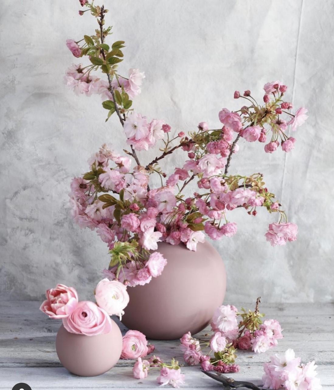 Cooee Ballvase 10cm Cinder rose