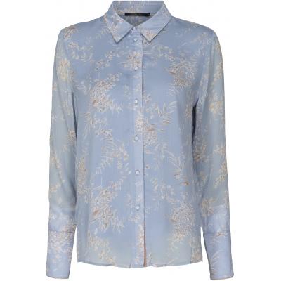 CaddisFly Bluse lyseblå