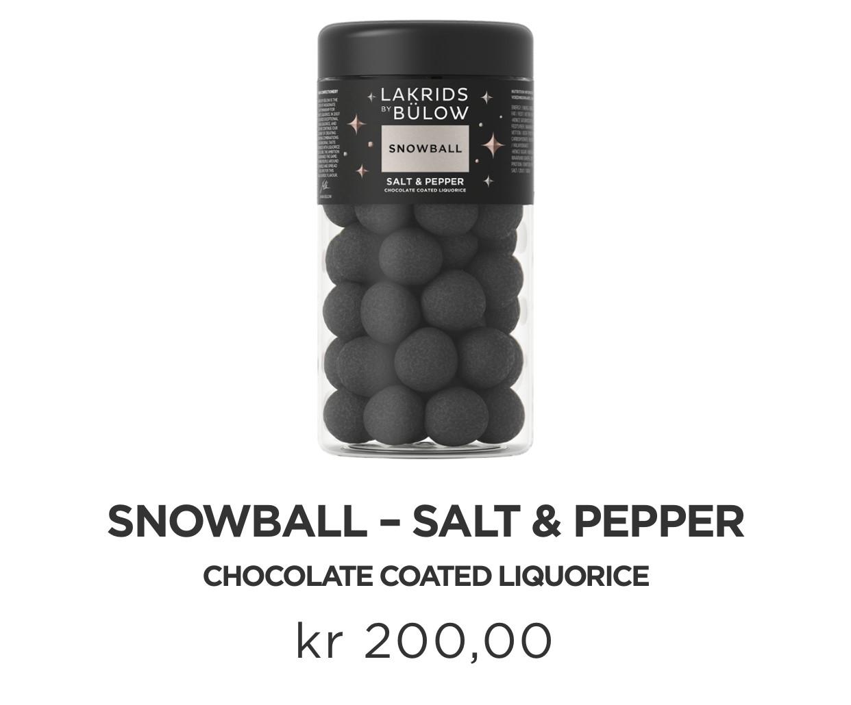 Lakrids | Black Snowball | Regular