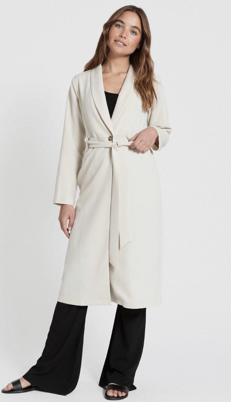 Lou Lou Coat jacquard   beige   L  