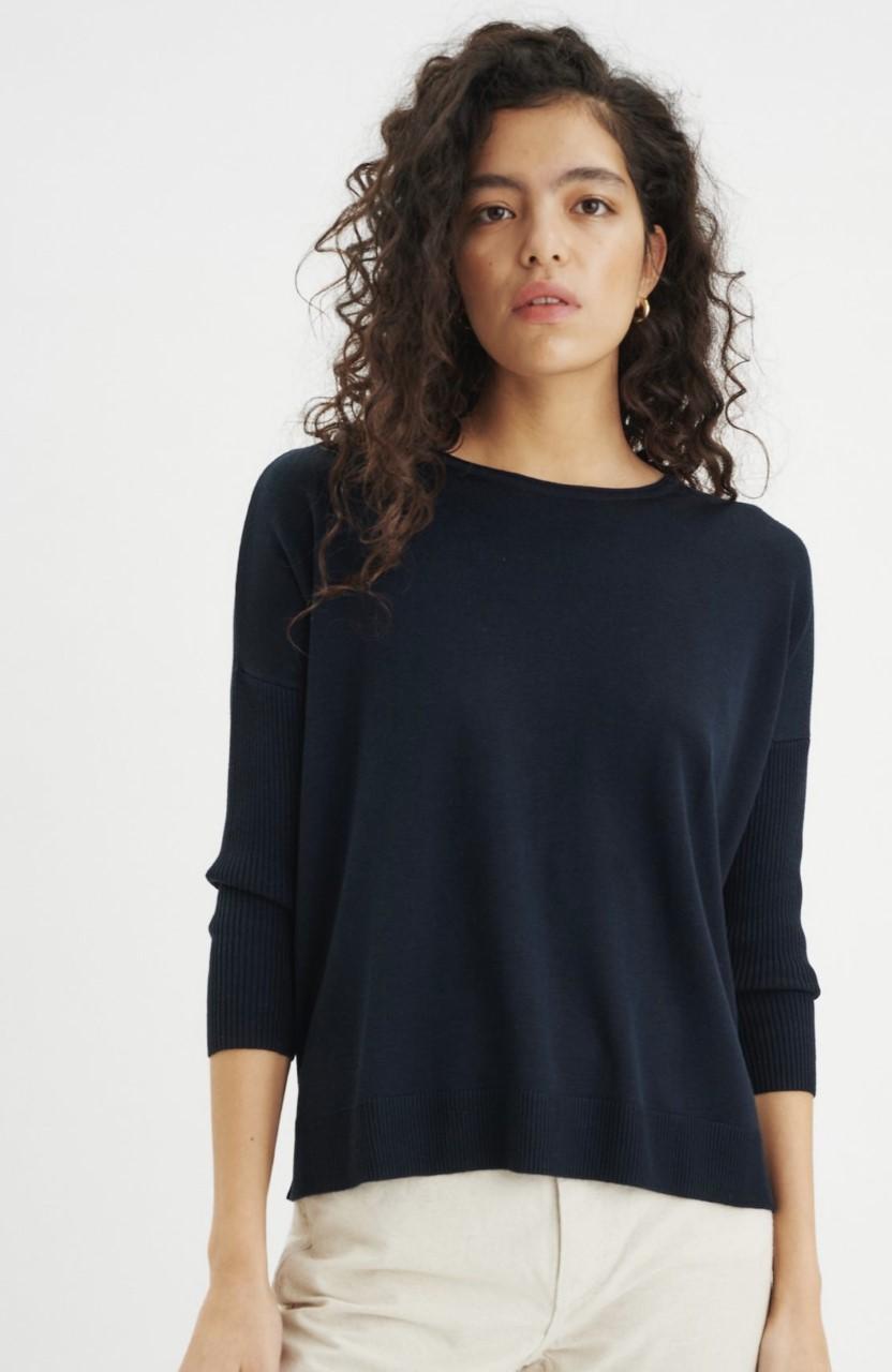 InWear Mira pullover genser-Navy