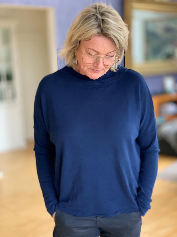 ByBasic sweater Rampegenser lav turtleneck