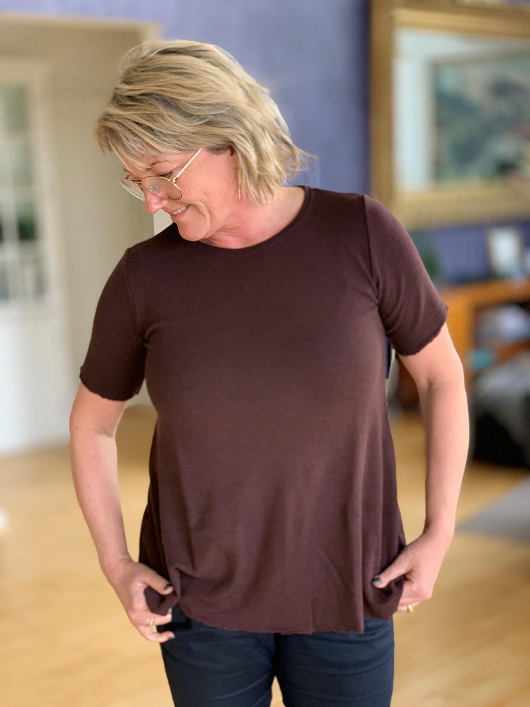 ByBasic T Shirt a fasong med god lengde