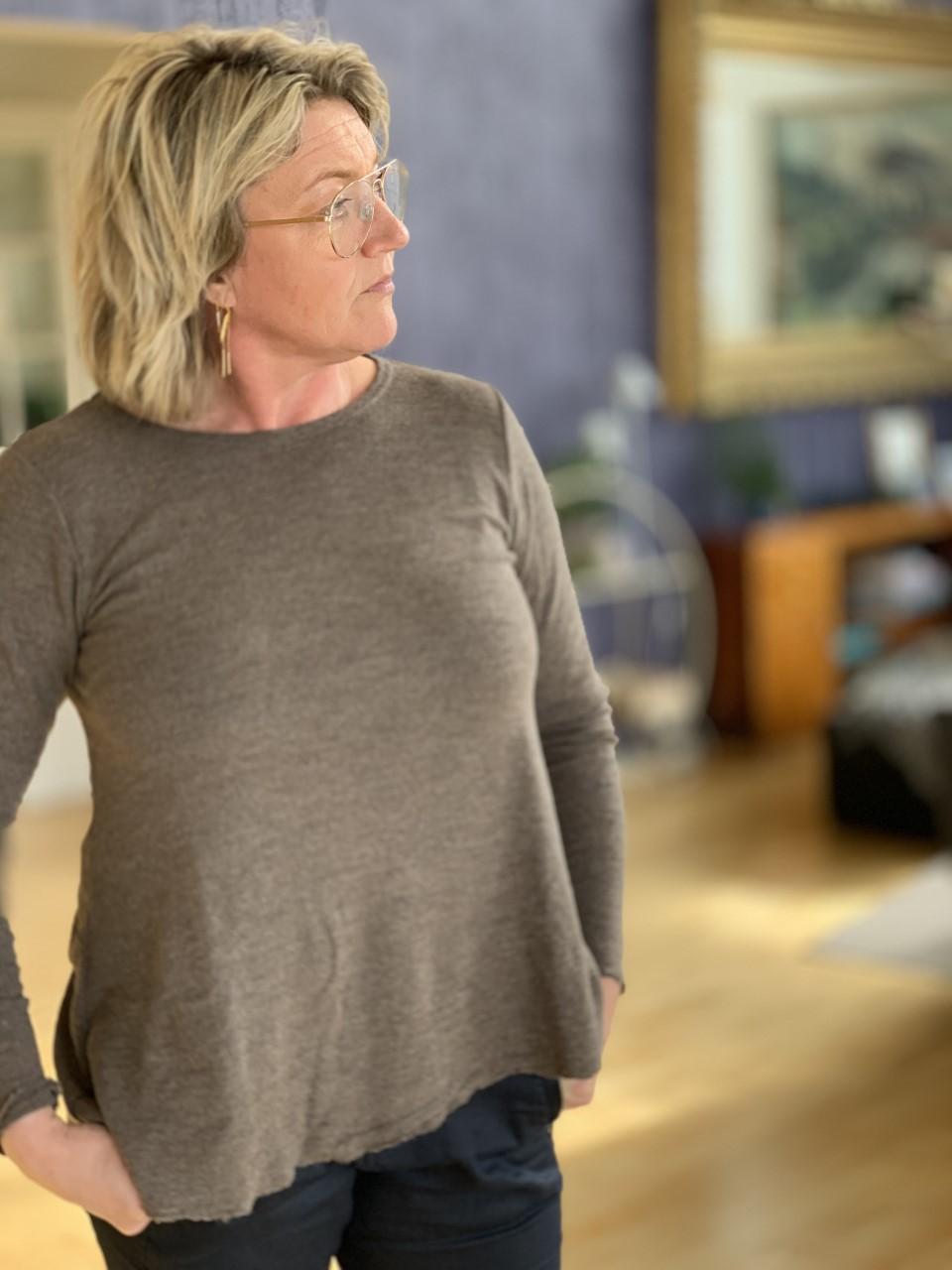 ByBasic A line sweater, genser