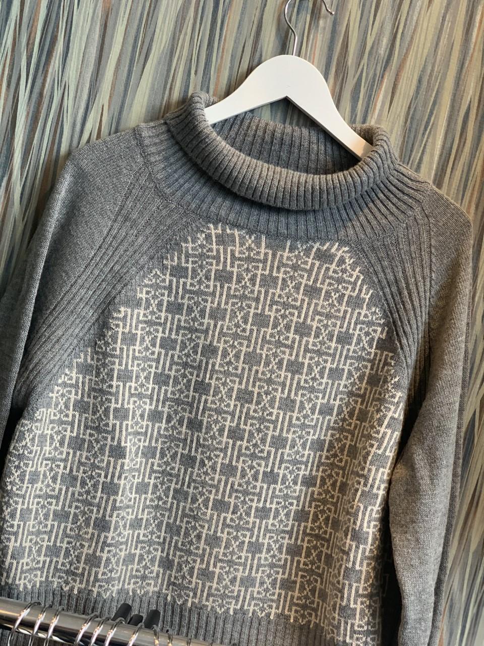 Leveteroom Kalima sweater highneck genser - grey