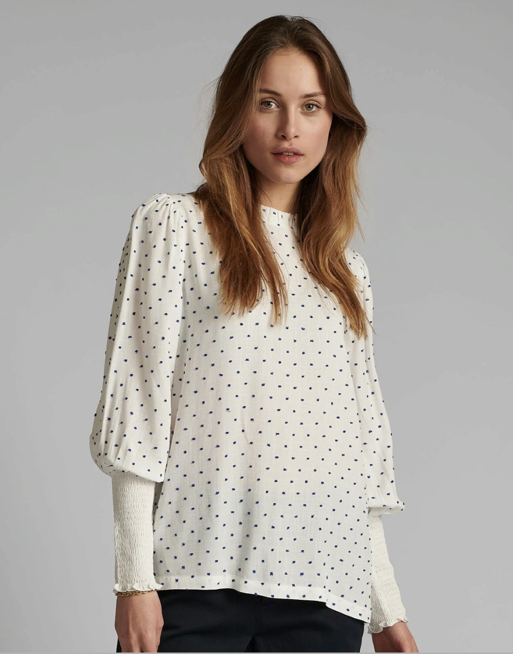 Numph Dotty blouse, bluse