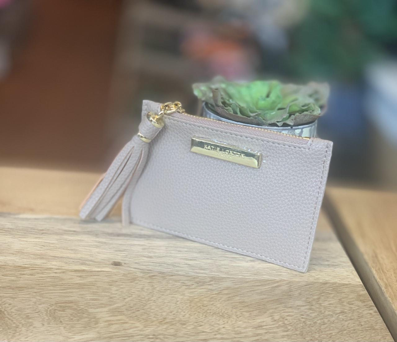 Katie Loxton Sophia tassel kortholder - Beige