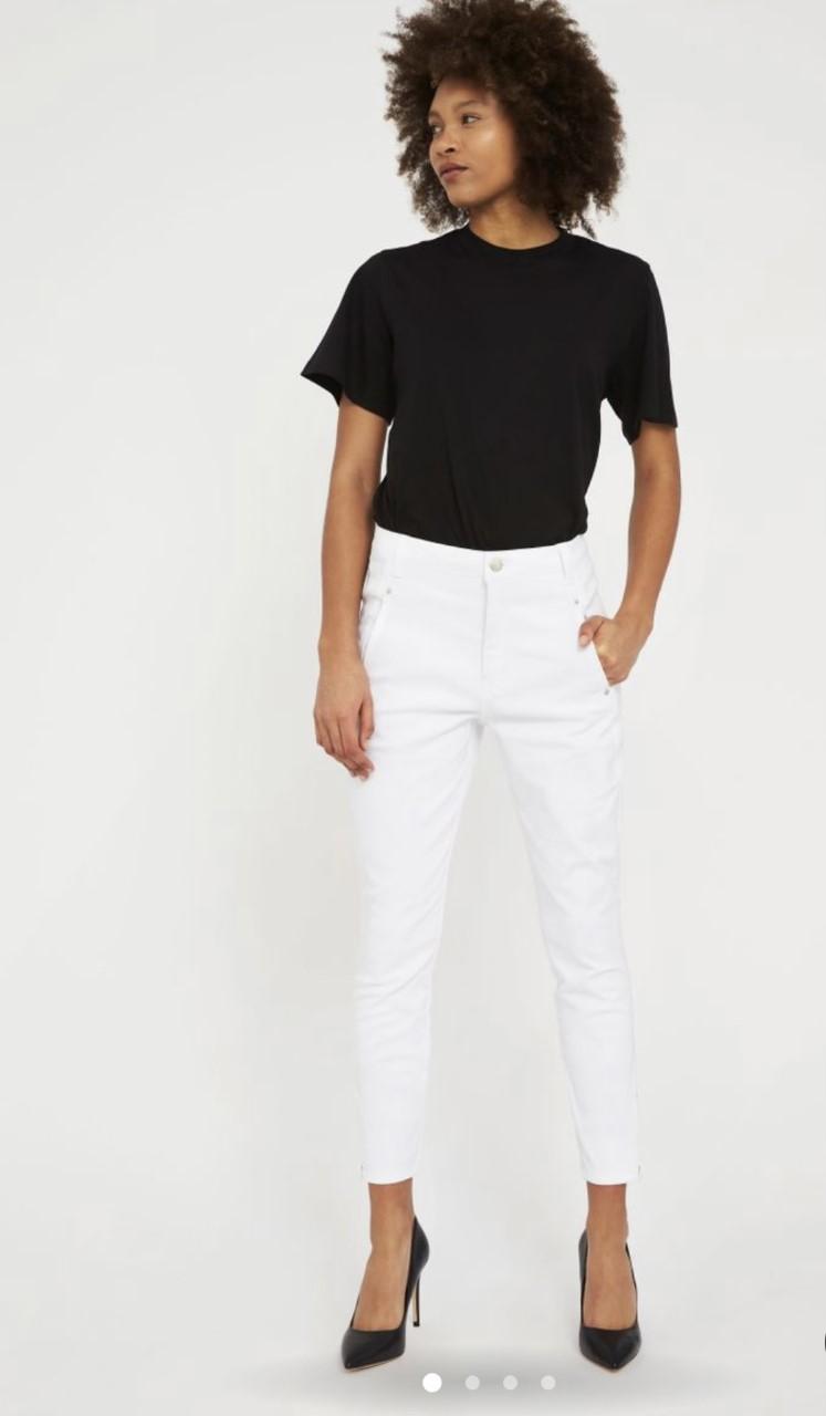 FiveUnits Jolie zip White