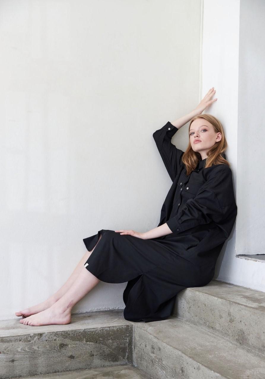 I Digg Denim Moa oversized shirt Dress Kjole