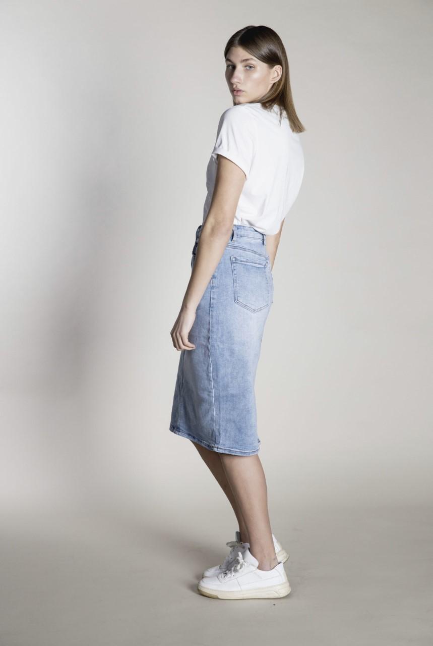 I Digg Denim Doris Jeans skirt skjørt