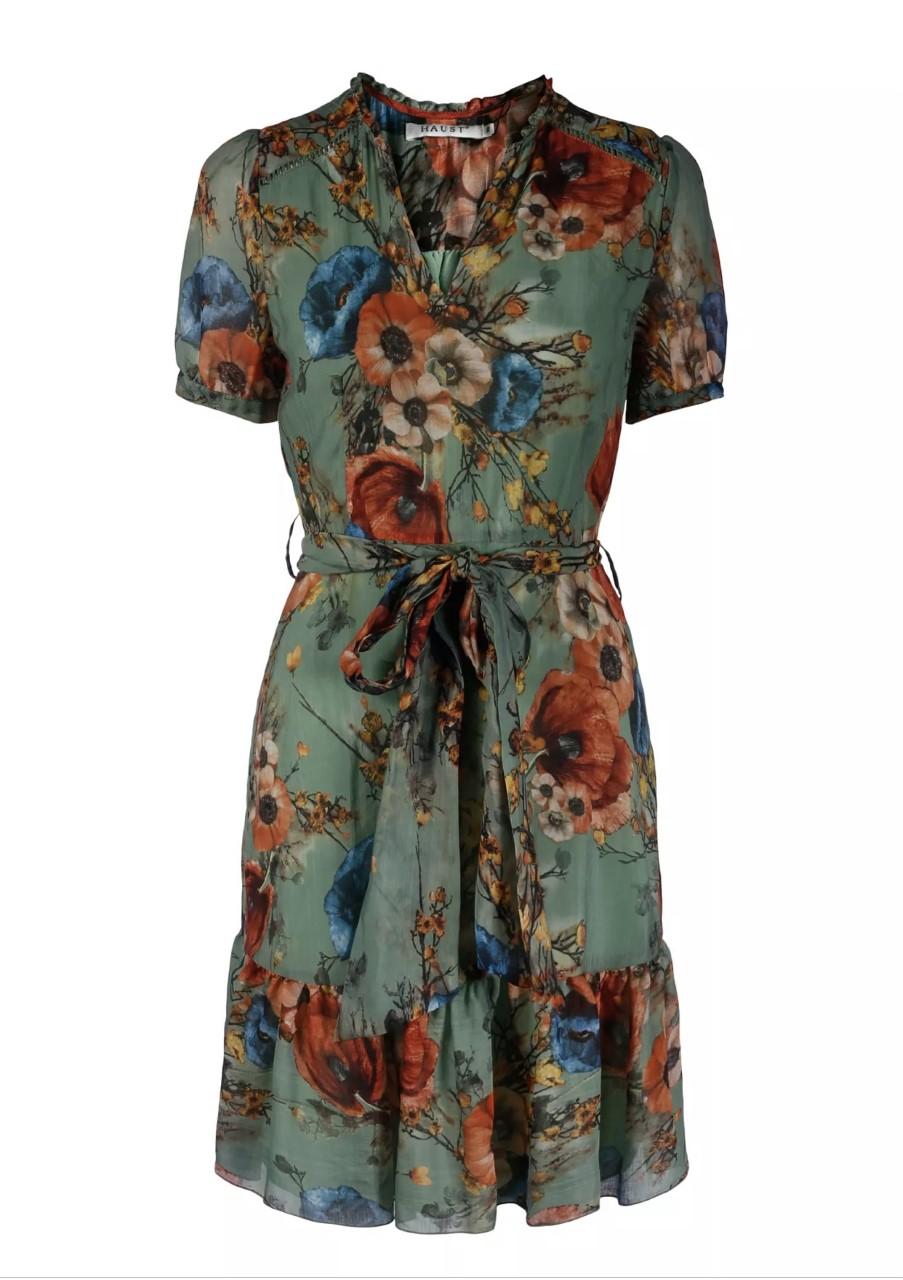 Haust Feminin summer dress kjole