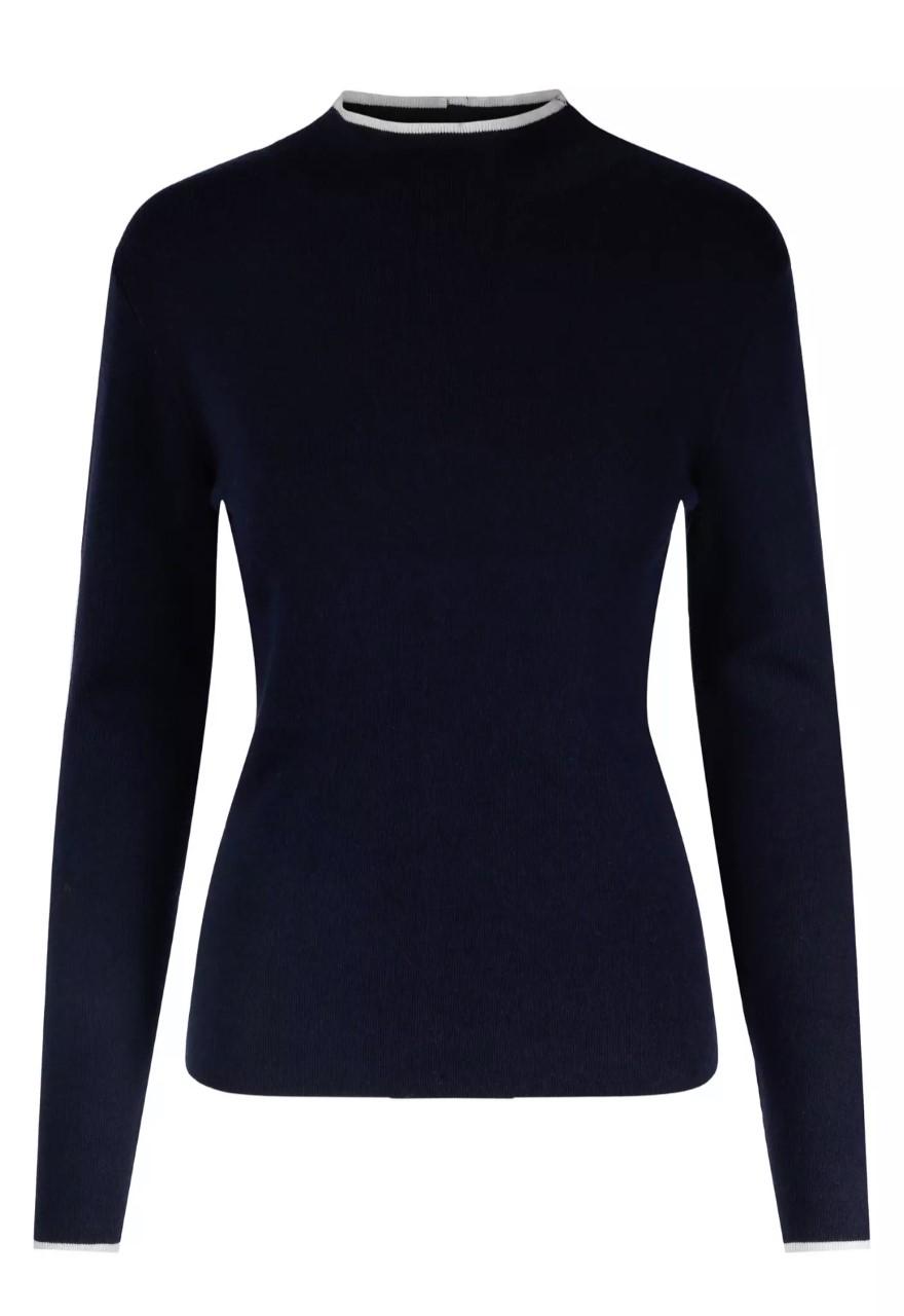HAUST Edge detalied pullover genser