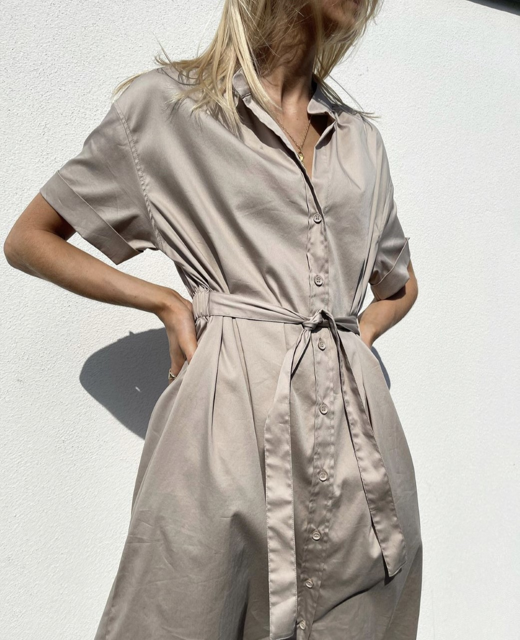 Leveteroom Isla Solid 25 dress kjole