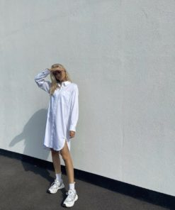 Leveteroom Isla solid23 shirt dress skjorte kjole