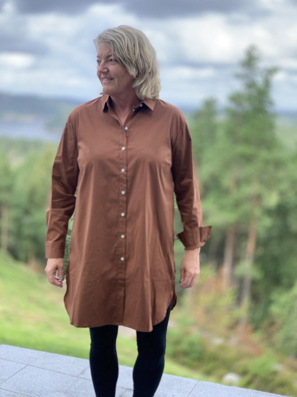 CostaMani Nora oversized shirt skjorte