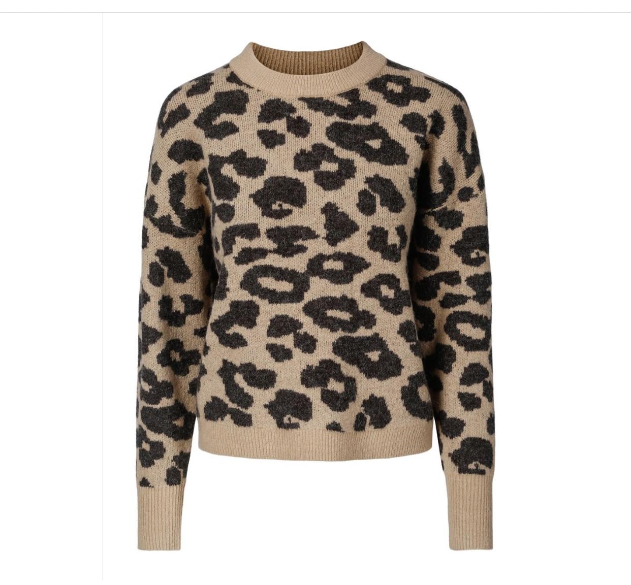 Haust Knitted Pullover Genser Animal