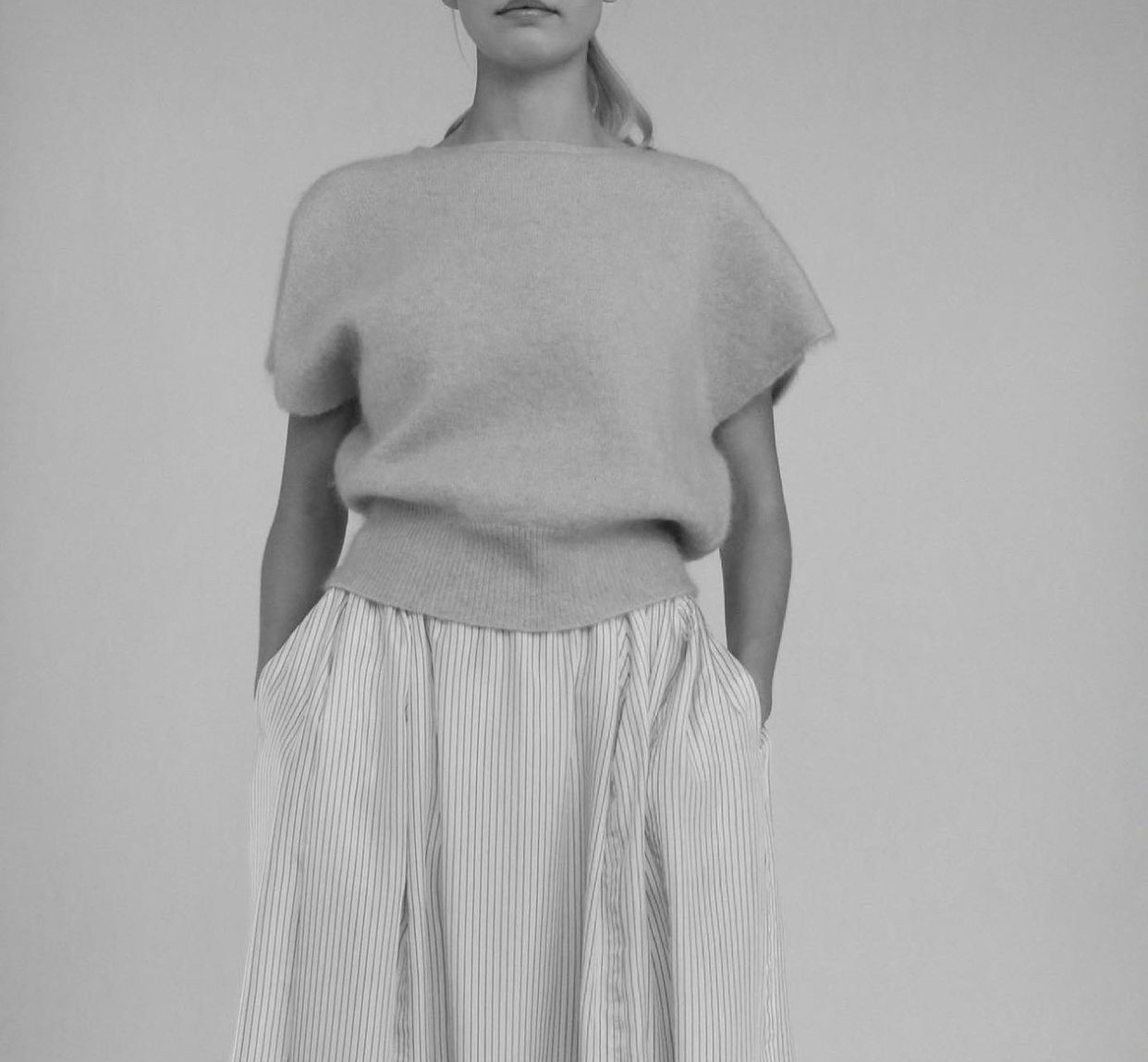 Cathrine Hammel Soft wide sleeveless top