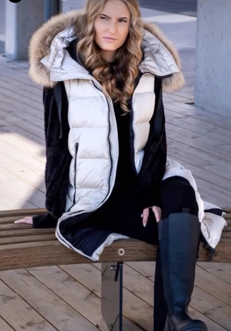 Haust Long Down jacket Dunjakke lang