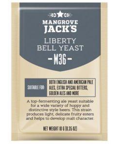 Liberty Bell M36 , tørrgjær for engelsk øl