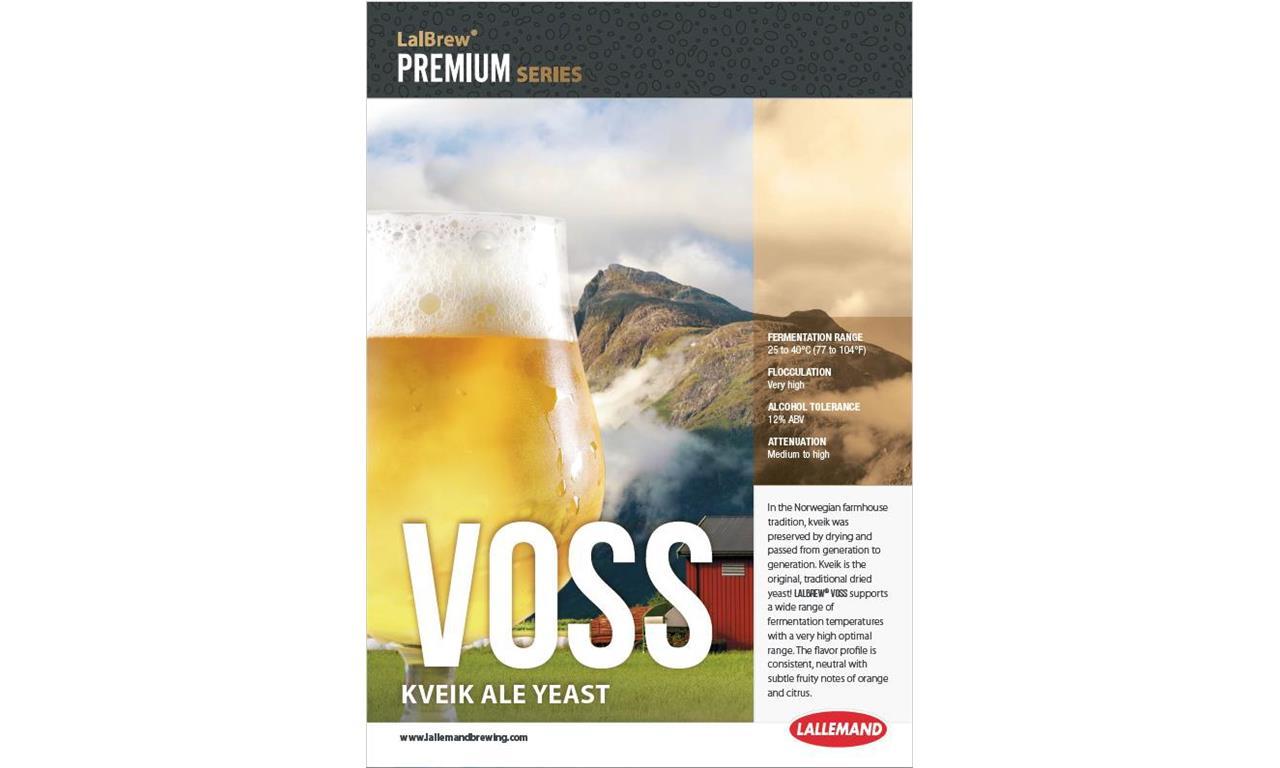 LalBrew Voss Kveik 11g