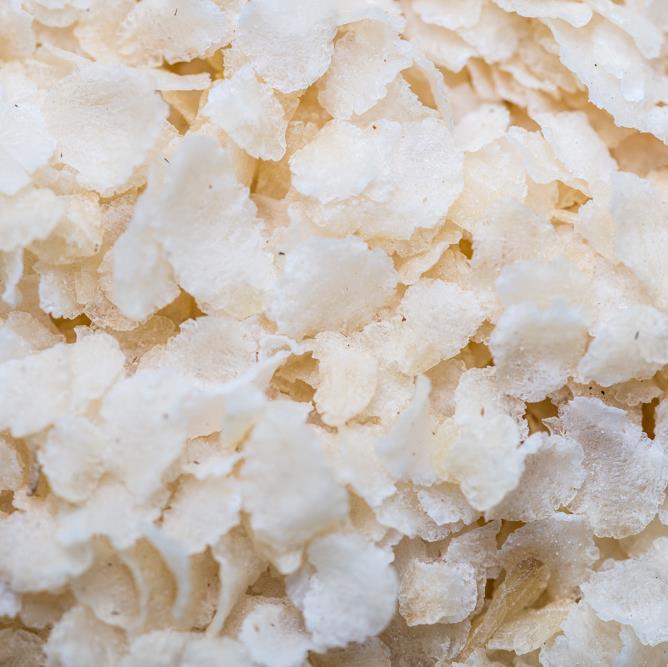 Flaket ris (umaltet)
