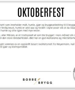 Ølsett 25l Oktoberfest