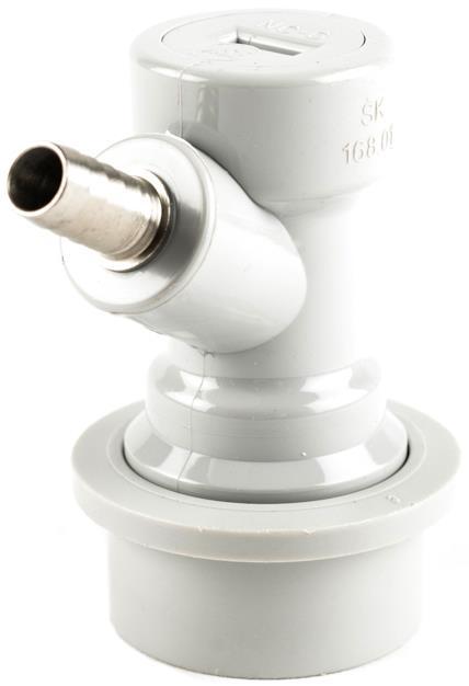 Ball lock Co2-kobling m/nippel