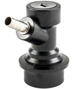 Ball lock øl-kobling m/nippel