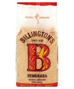 Billington's lyst demerara sukker 500g
