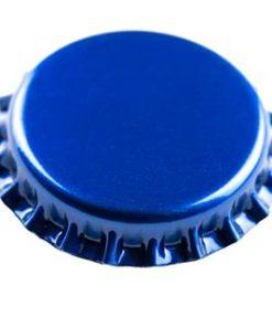 Kronkork blå 26mm 100 stk