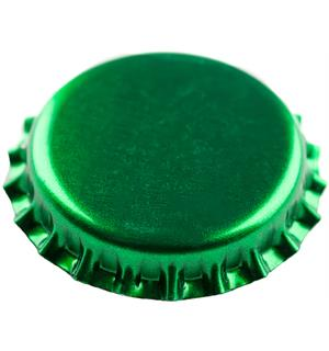Kronkork Grønn 26mm 100 stk