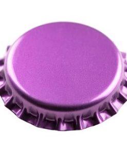 Kronkork lilla 26mm 100 stk