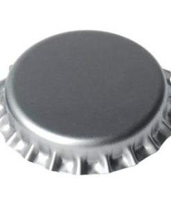 Kronkork sølv 26mm 100 stk