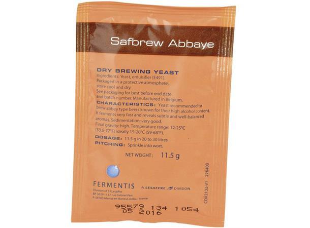 Safbrew Abbaye BE-256, 11,5 g
