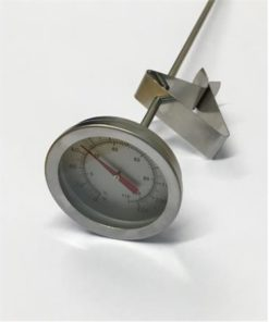 Termometer analog 30 cm klips