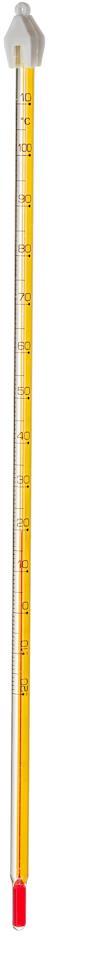 Termometer, 0-100 glass