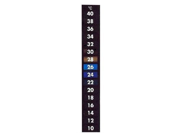 Termometer for gjærkar klistremerke
