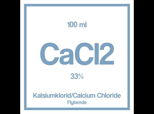 Kalsiumklorid CaCI2 33% E509 100 ml