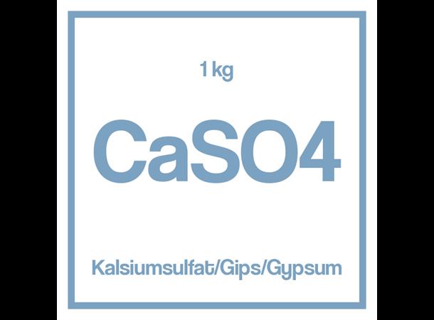 Kalsiumsulfat / Gips/ Gypsum  (CaSO4) 1 kg